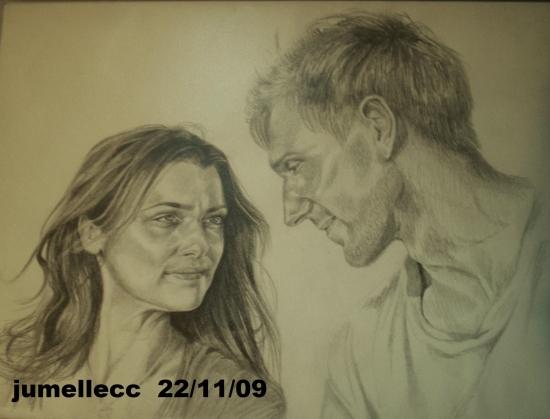 Ralph Fiennes, Rachel Weisz by jumellecc
